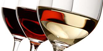 Rødvin og hvitvin