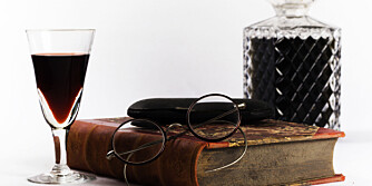 KOS: Sett stemningen med et glass portvin.