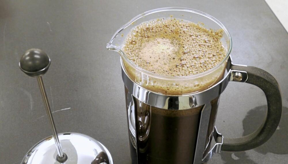 GOD KAFFE: Skal kaffen bli i toppklasse må du være litt pirkete.