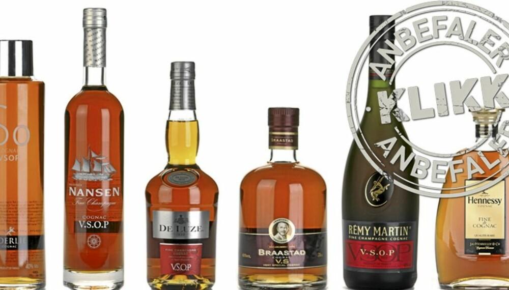 STOR COGNACTEST: Vi har testet 31 cognacer i klassen V.S og V.S.O.P.