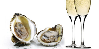 Østers og Champagne skal gjøre underverker for potensen