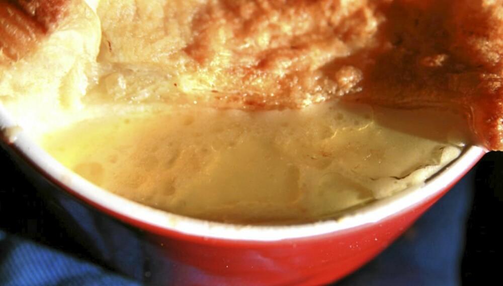OPPSKRIFT PÅ FISKESUPPE: Her får en god suppe å varme deg på. Med lokk.