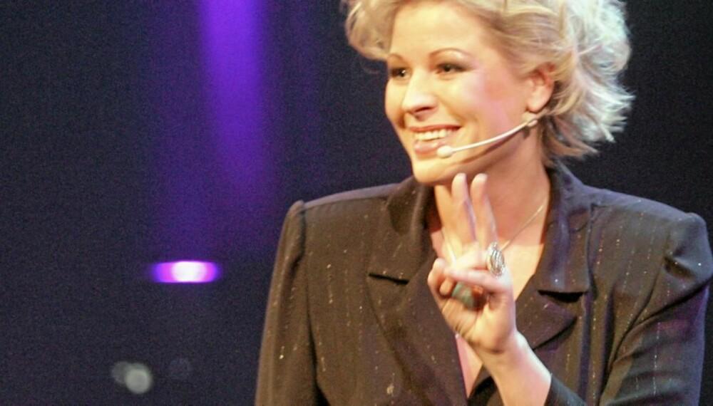 PÅ TILBUD: Anne-Kat Hærlands vin på tilbud på polet i november.