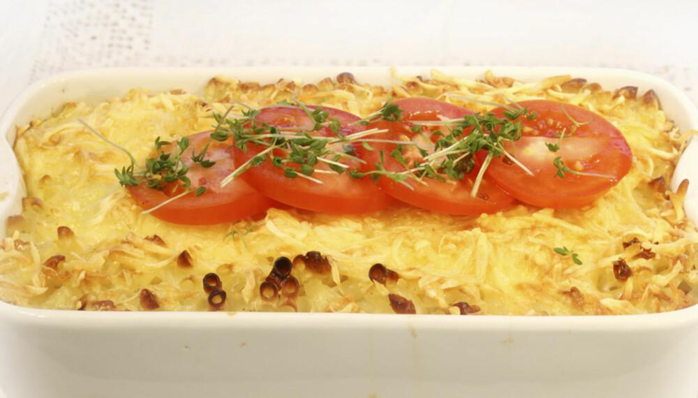 DEILIG: Mac 'n' cheese blir enda bedre med vellagret og smaksrik ost.