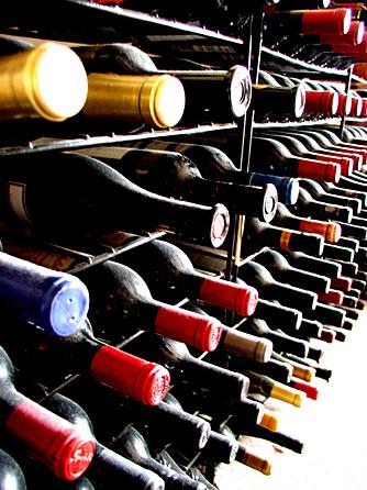 ØDELAGT VIN: Hver tyvende vinflaske har feil, ifølge statistikken.