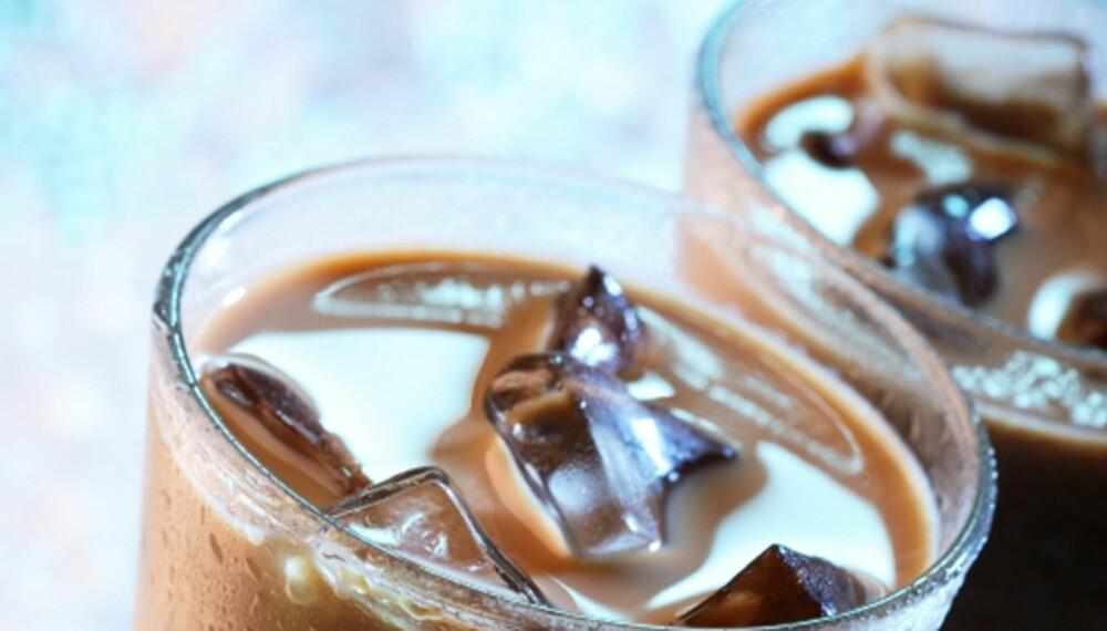 Iskaffe er et sommerlig alternativ.