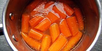 GULROT: Få mest mulig sødme, smak og friskhet fra de kokte gulrøttene