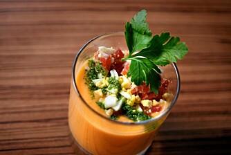 SALMORE JO: En annerledes og spennende tomatsuppe.