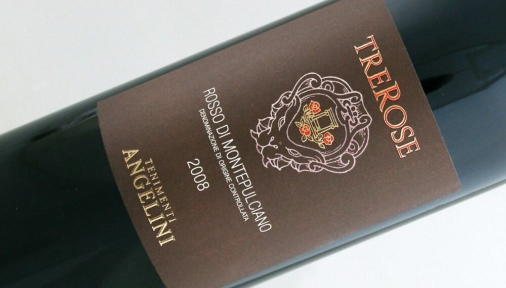 "JUNIOR: Rosso di Montepulciano er ""junior-utgaven"" av Vino Nobile di Montepulciano."