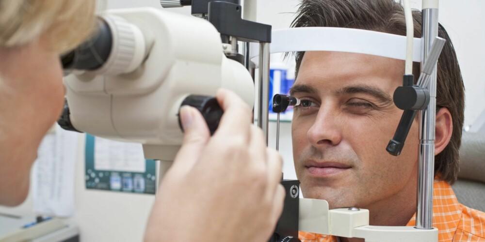 GOD EFFEKT: Ved et linsebytte erstattes øyets naturlige linse med en ny, kunstig linse. Etterpå trenger du ingen hjelpemidler for å se bra.