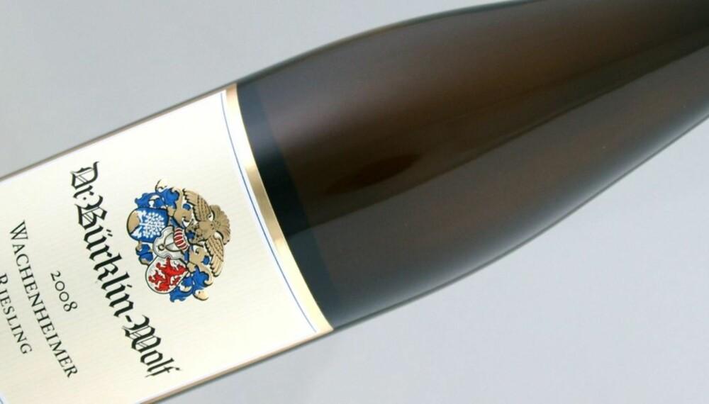 PFALZ: Dr. Bürklin-Wolf er en av de beste vinprodusentene i Pfalz.