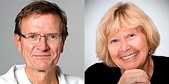 EKSPERTER: Lars Gullestad og Inger Elling