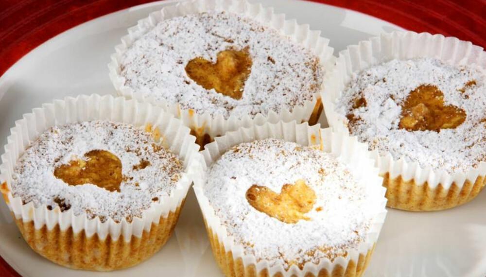 FEDON-MUFFINS: Denne muffinsen inneholder fruktose i stedet for sukker, og er en oppskrift fra Fedon Lindberg.
