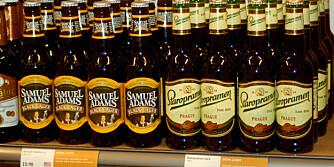 ØL: Øl til halv pris i Sverige.