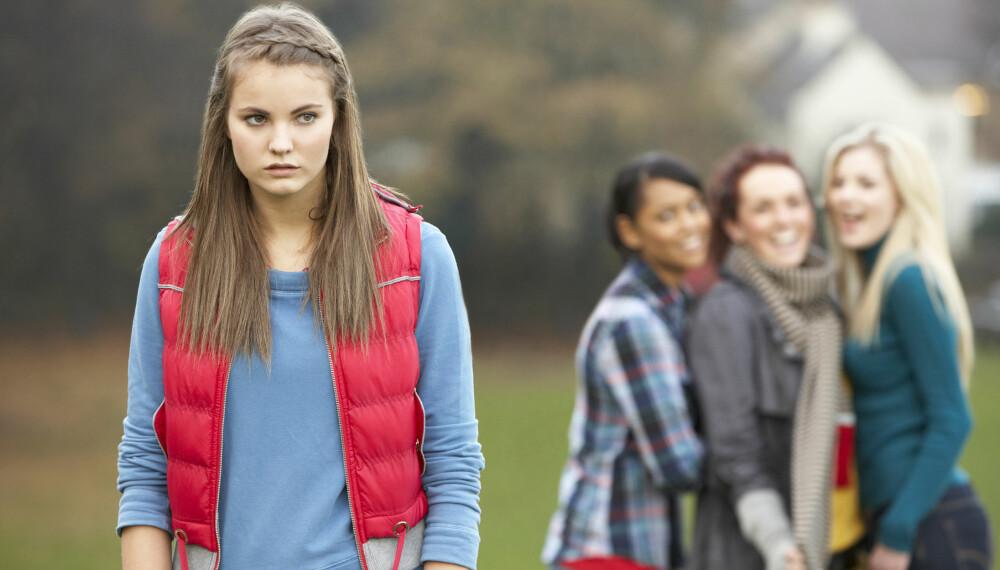 MOBBES MER: Skeiv ungdom opplever å bli mobbet for seksuell orientering eller identitet.