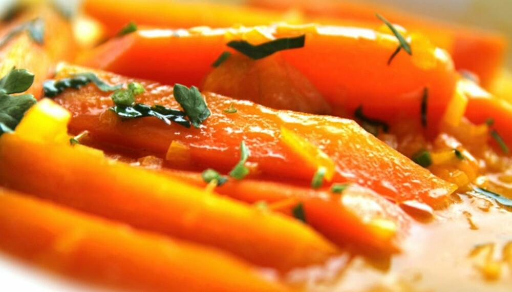 OPPSKRIFTER MED GULROT: Dette krydderet passer god til gulrot...