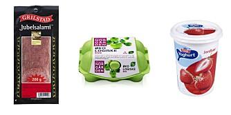 LANG HOLDBARHET: Spekemat, egg og syrnede meieriprodukter holder seg gode også etter at holdbarhetsdatoen er forbi.