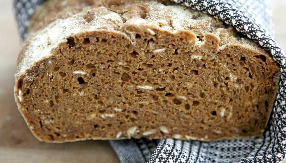 Oppskrift på brød: Søndagen er den store bakedagen.