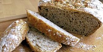 IKKE KNA-BRØD: Mindre jobb, bedre brød