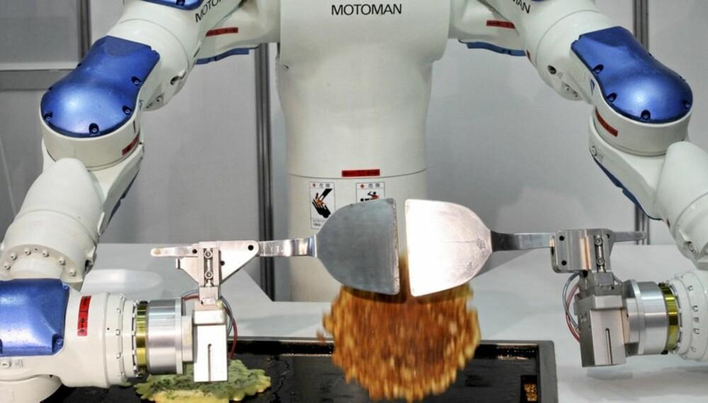 Se video nedenfor av hvordan kokkeroboten fungerer.