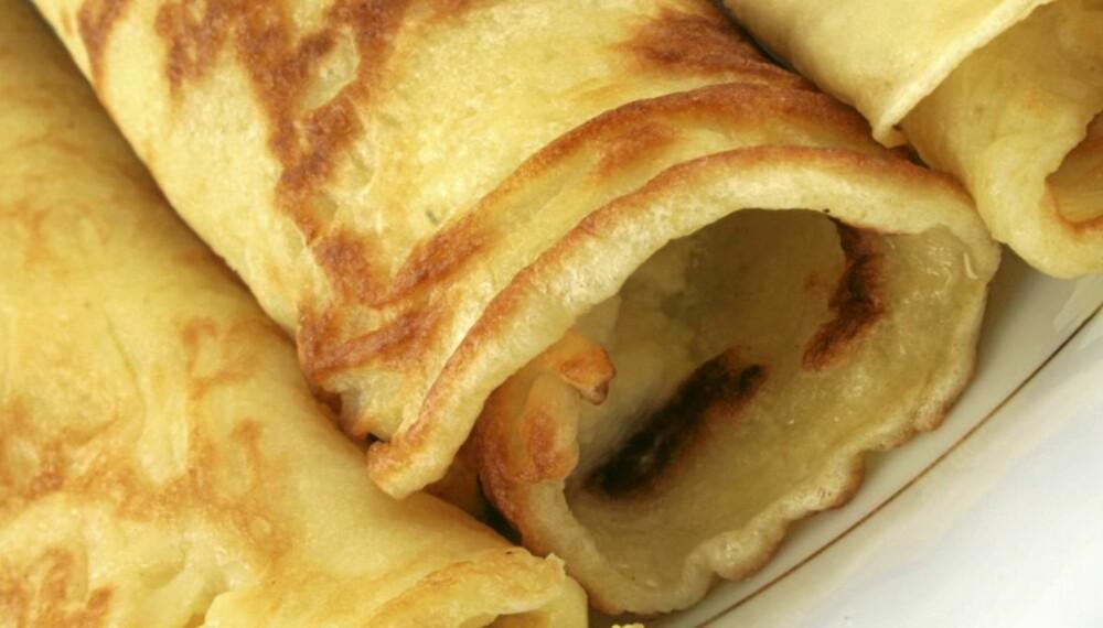 Hvordan lage pannekaker?