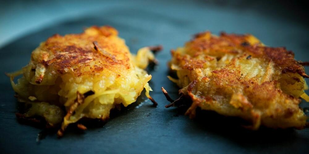 Røstipotet: Røstipoteter spises like ofte til frokost som til middag. Men, ikke i Norge.