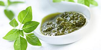 PESTO: Pesto alla genovese er den mest kjente pestoen, men det finnes mange andre typer som også er enkle å lage selv.