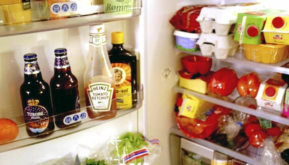 MANGE SYNDER: En rekke grønnsaker og det meste av frukt har ikke noe i et kjøleskap å gjøre.