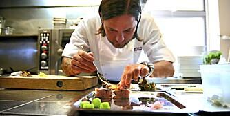 Jan Dadji er kjøkkensjef på Ekebergrestauranten.