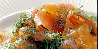 SPIS AKEVITT: Vi vi herved oppfordre til å spise akevitt.