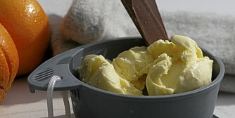 PÅSKEIS: Nylaget iskrem på tur