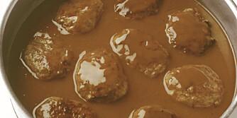 Her kommer oppskriften på brun saus.