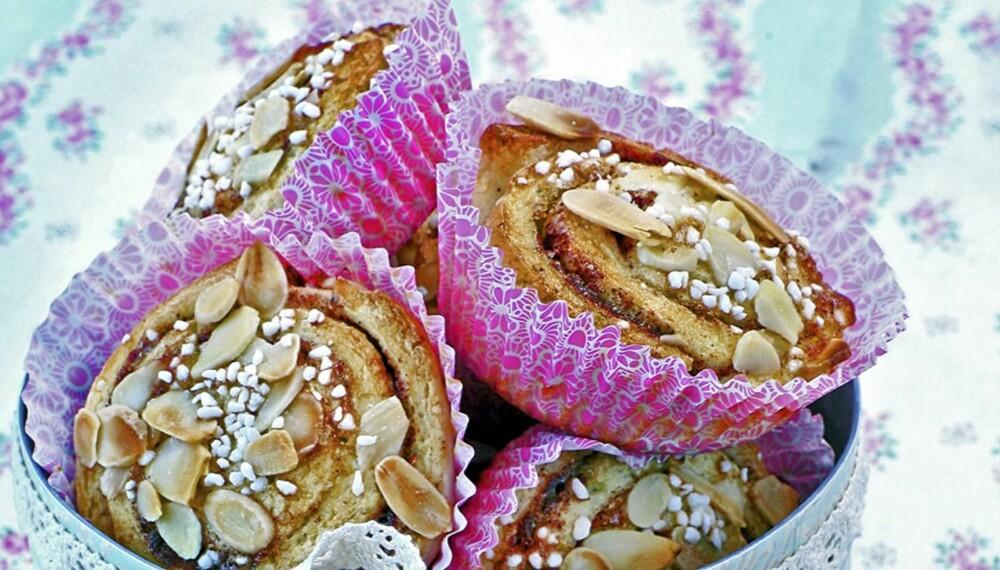 OPPSKRIFT PÅ GLUTENFRIE KANELSNURRER: For alle som vil lage noe glutenfritt, her er oppskriften du trenger.
