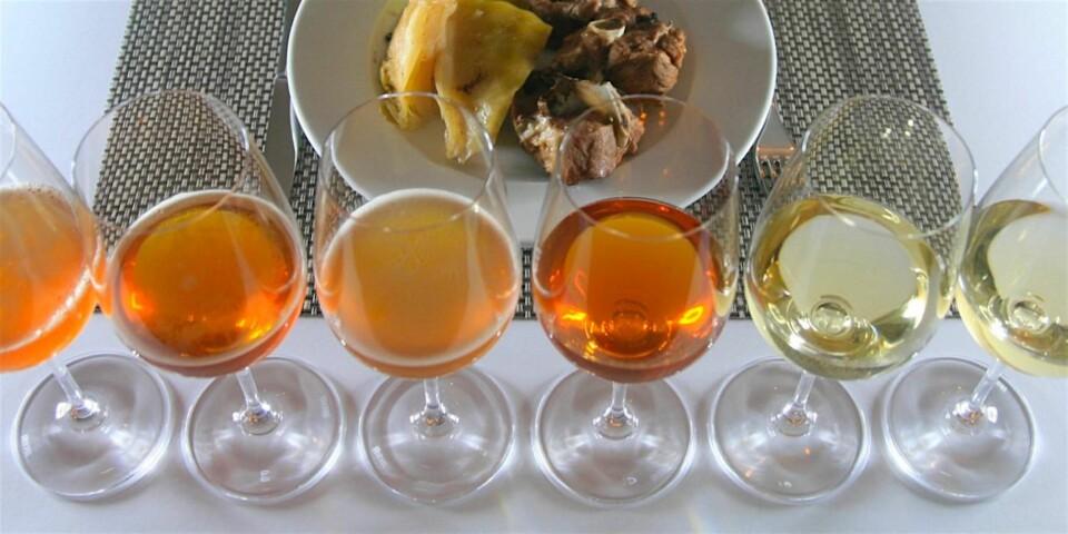 TIL FÅRIKÅL: VI har teste en lang rekke forskjellige øl og viner til fårikål.