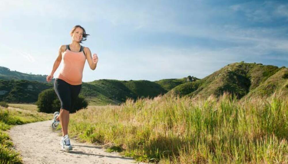 SLANKING OG GRAVIDE: Svangerskapet er ikke en tid for slanking, men er du overvektig kan vektkontroll kan gjøres i samarbeid med lege eller jordmor.