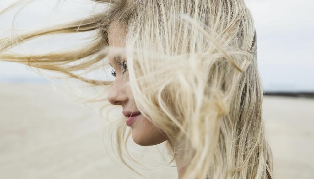 HÅR OG HUD I GRAVIDITETEN: Det er mye som endres i kroppen når du går gravid - hud og hår er også utsatt. Kviser, hårtap, hårvekst og pigmentflekker er vanlige endringer. Foto: Gettyimages.com.