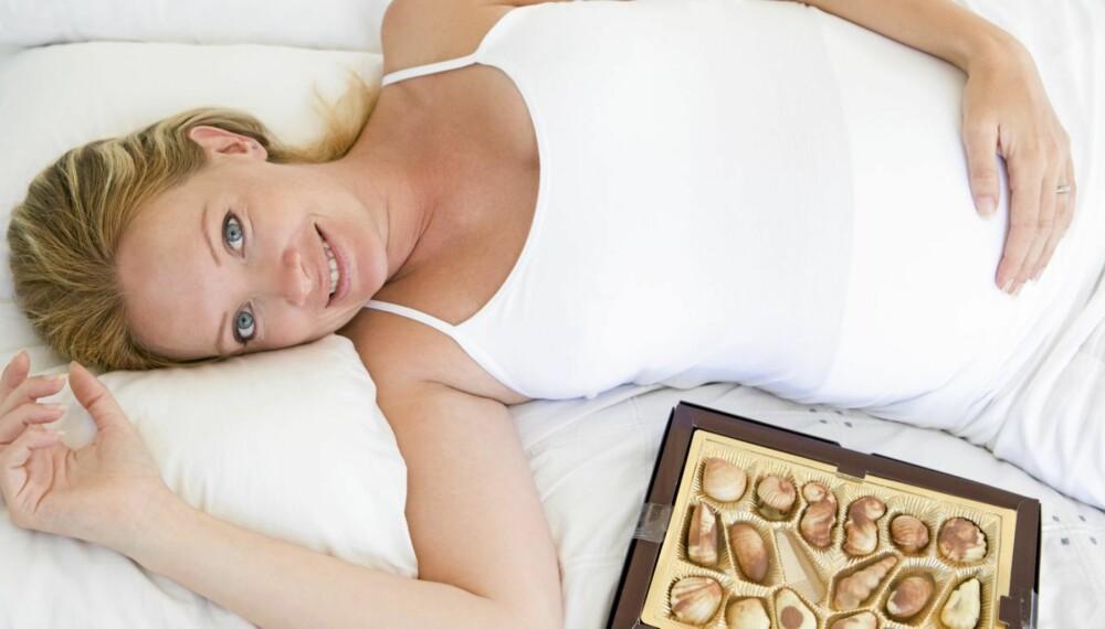 FORSIKTIG, NÅ: Usunn livsstil har ført til en kraftig økning av gravide som får diabetes. Og man har ikke bare seg selv å ta hensyn til.