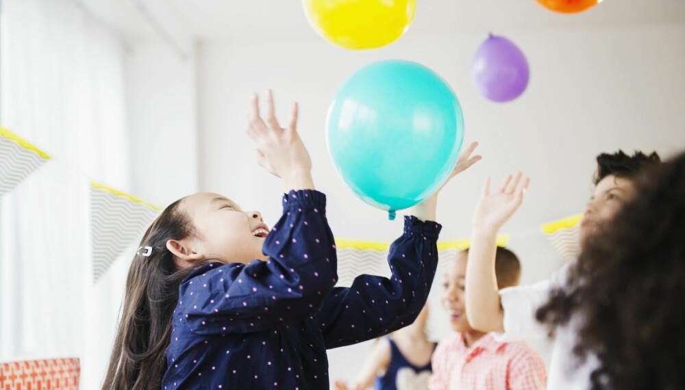 644881b2 Med disse aktivitetene vil barnebursdagen gå som en lek.