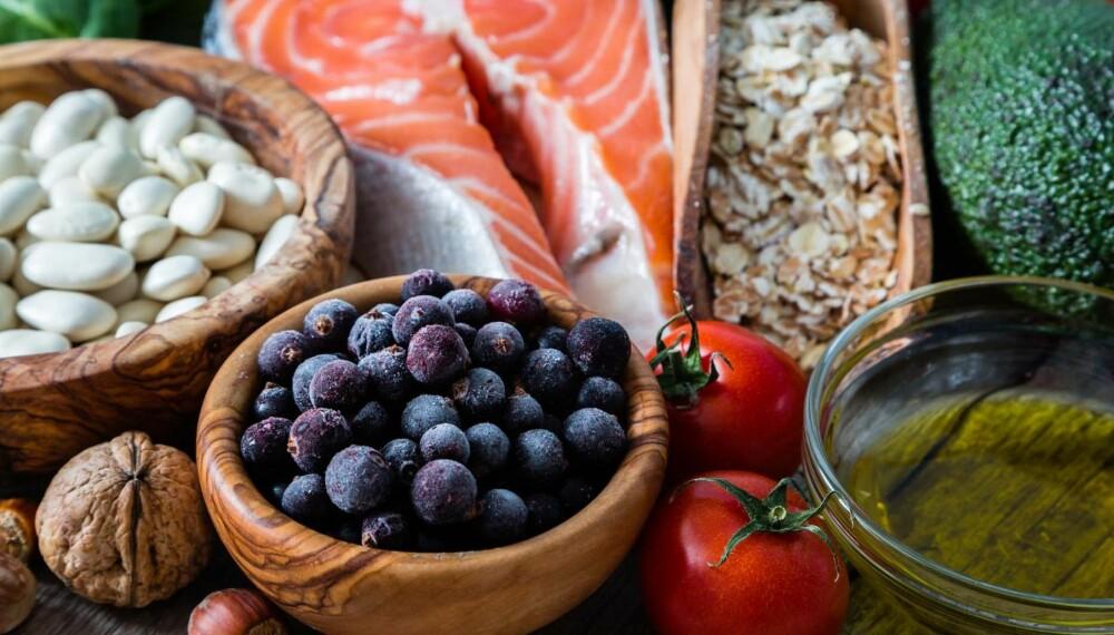 KOSTRÅD: Gravide bør være nøye med kosten, men det er ikke vanskelig med alle disse deilige råvarene.