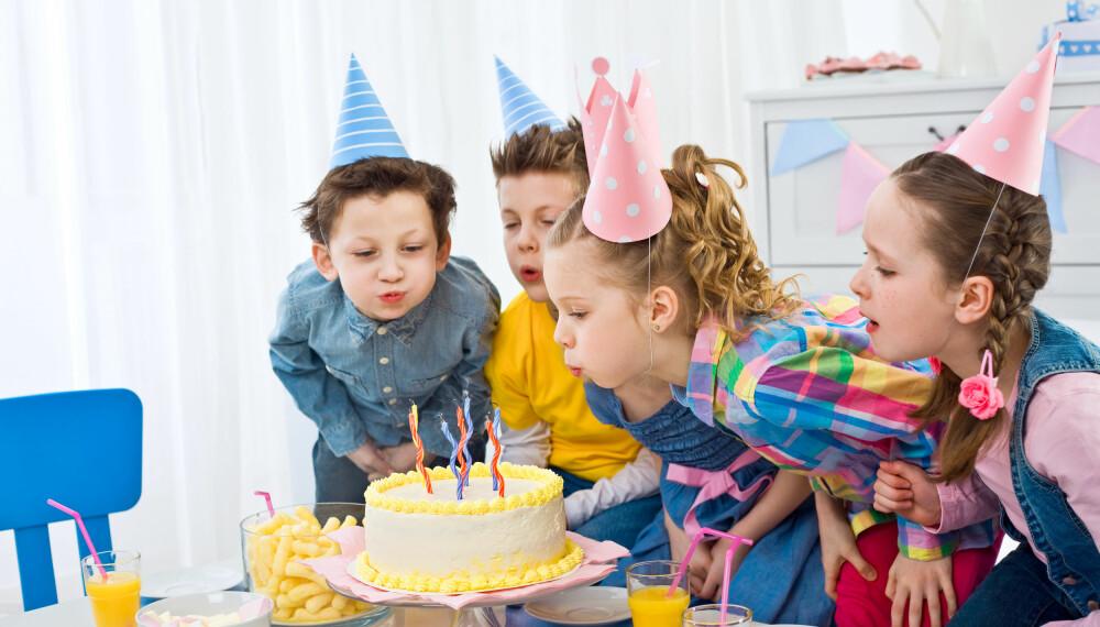 KLASSEBURSDAG: I alderen 7 til 9 år er skoleklassen i fokus.