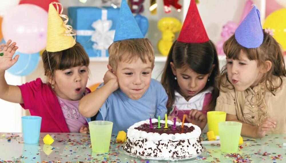 AKTIVITETSBURSDAG: Det er blitt veldig populært å feire bursdagen utenfor hjemmet.