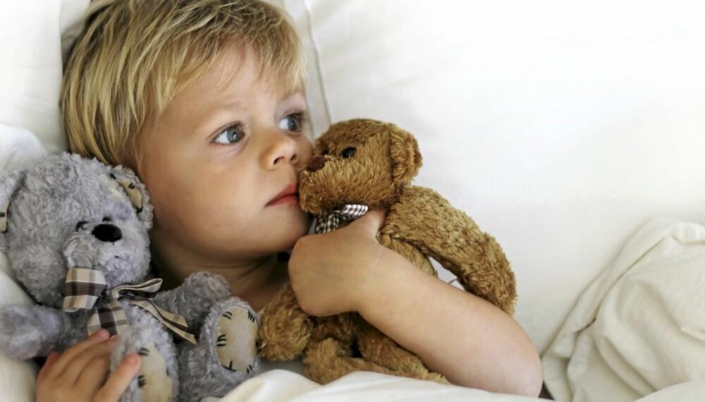 MARERITT HOS BARN: Mareritt er vanlig blant barn, og disse drømmene begynner i tidlig alder. De aller fleste barn har mareritt, ettersom det er mange inntrykk å fordøye.