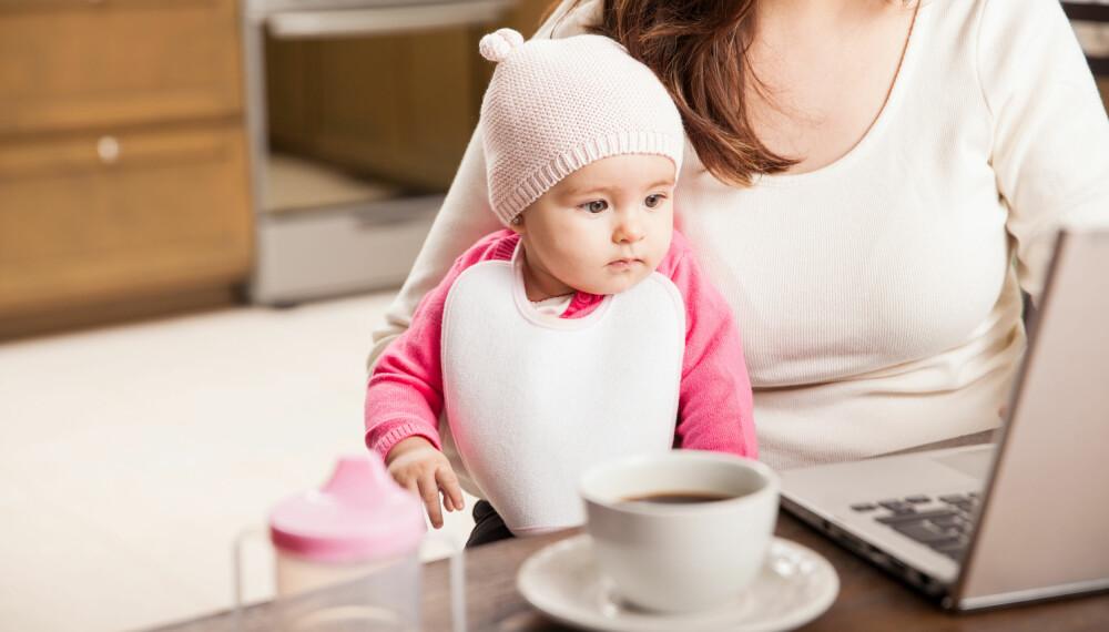 BRANNSKADER PÅ BARN: Varm kaffe og te er verstingene hvorvidt gjelder å forårsake brannskader på barn. Foto: Gettyimages.com.