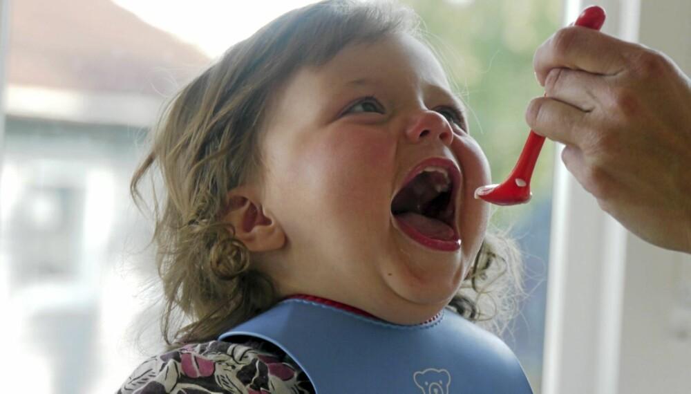 HJEMMELAGET BABYMAT: Sunt og godt! Bruk gjerne smaker som muskat, ingefær, koriander og timian i maten du lager.