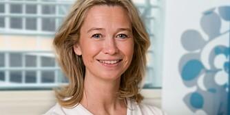 EKSPERT: Ernæringsfysiolog Helene Aure råder foreldre til ikke å legge på for mye på tallerkenen. Det kan virke uoverkommelig for de små og de gir opp før de har startet.