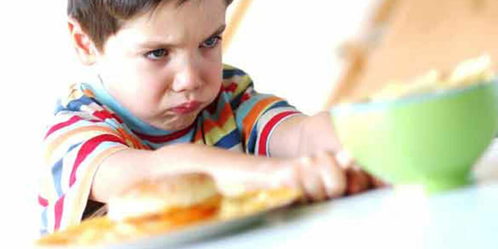 VIL IKKE: I en undersøkelsen viste det seg nylig at 39% av britiske mødre innrømmer å bestikke barna med søtsaker for å få dem til å spise sunt.