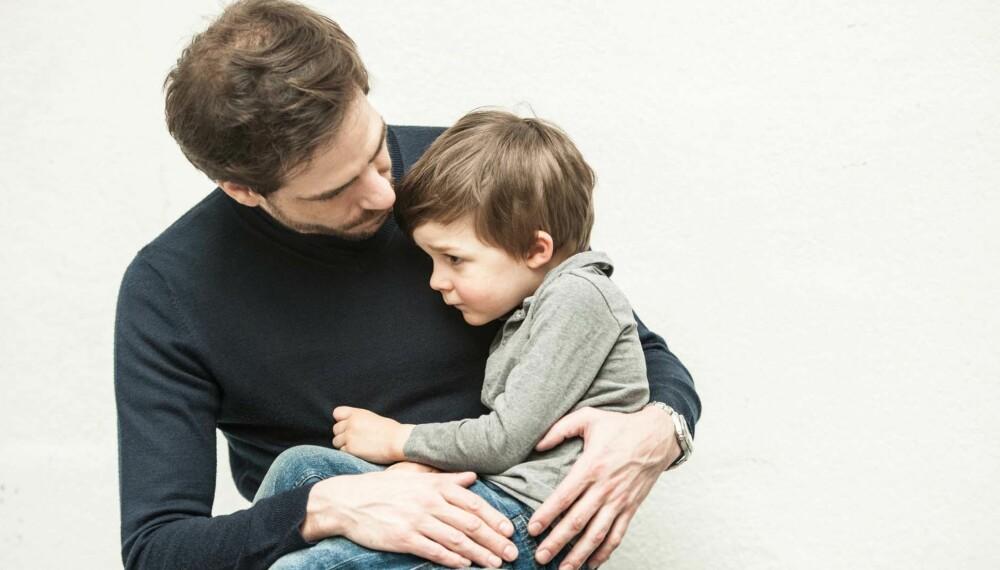 VONDT I TISSEN: Det kan være mange årsaker til at barn får vondt i tissen. Det er viktig å ta dem på alvor.