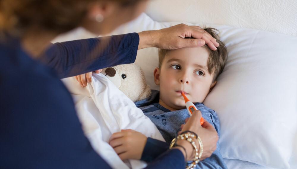 HJERNEHINNEBETENNELSE HOS BARN: En tredjedel av dem som får sykdommen er under fem år. Hjernehinnebetennelse er en sjelden, men alvorlig sykdom. Foto: Gettyimages.