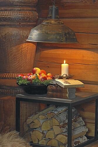 LUNT: Den varme stilen vi kjenner fra hytta skal inn i stua hjemme også.