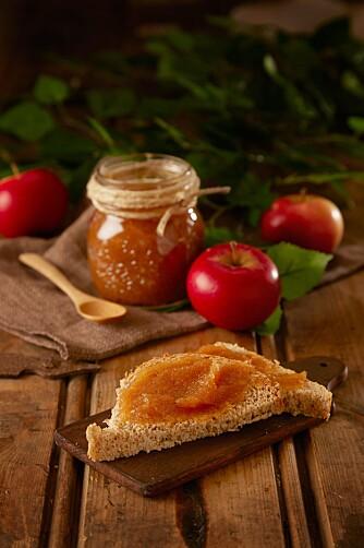EPLESMØR: Hvorfor ikke prøve deg på noe kult som eplesmør?